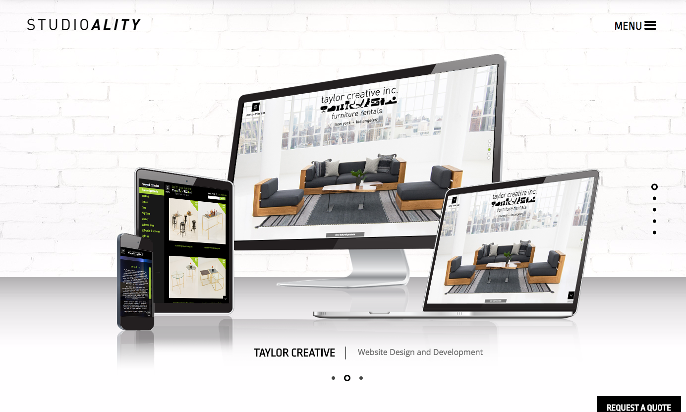 Clients | Studioality - Philadelphia Web Design and Site